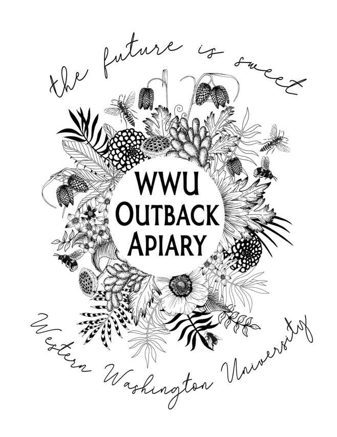 wwu outback apiary graphic